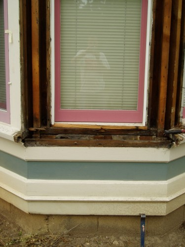 Before Photo Of Bay Windows