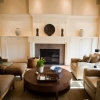 Spacious Living Room, Custom Woodworking