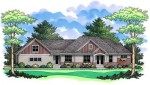 Ranch Home Plan PC cls-2634