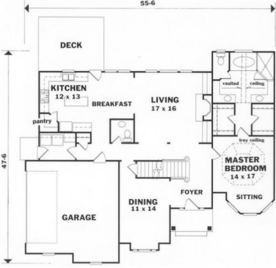 Bonus room house plans over 5000 house plans for 3 bedroom floor plans with bonus room